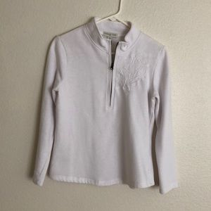 Coldwater Creek Pullover Zipper Sweatshirt